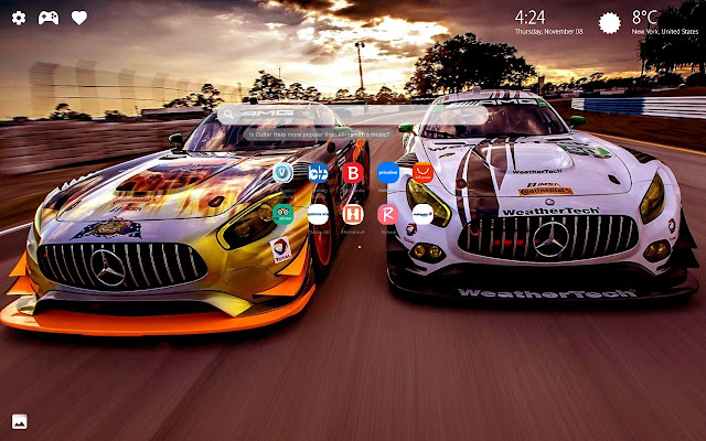 Race Cars New Tab Wallpapers HD Drift Cars