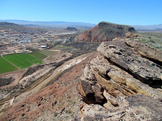 On a ridge above the Virgin River