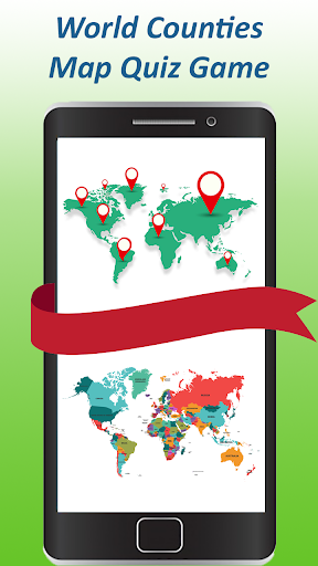 World map quiz & Geography trivia game by Quiz Trivia Apps ...