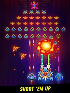 Space Shooter: Galaxy Attack MOD Apk 1.426 (Unlimited Money) 8