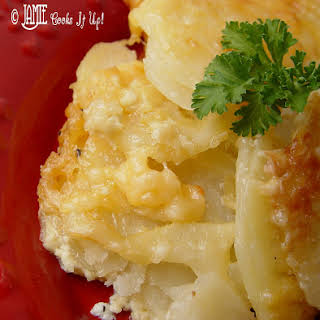Cheesy Au Gratin Potatoes.