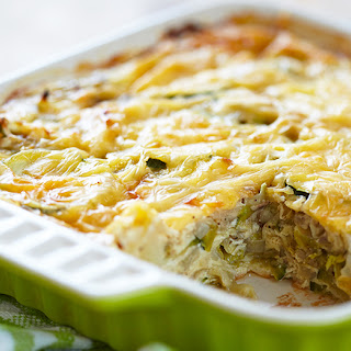 Cabbage Zucchini and Cheese Casserole