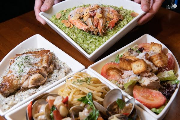 南京復興站美食》吃義燉飯 Let's Eat – 用三角餐盤拼湊心中的美食地圖 小巨蛋熱門打卡店