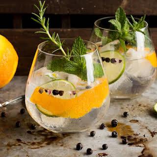 Spanish Gin Tonics.