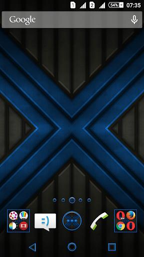X Blue Reloaded XZ Theme