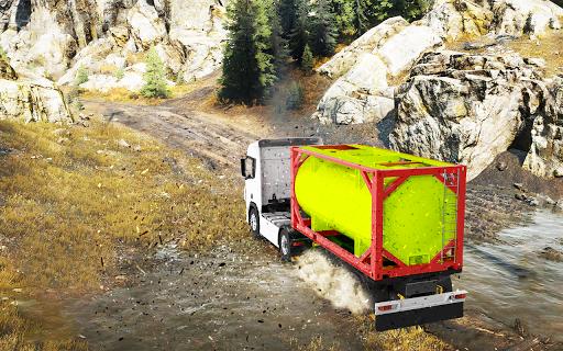 Offroad truck driver 4X4 cargo truck Drive 3D 1.0.8 screenshots 15