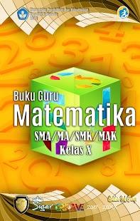 Buku Matematika Kelas X untuk Guru - náhled