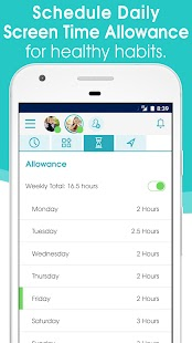 OurPact – Parental Control & Screen Time Manager- screenshot thumbnail