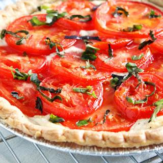Jersey Tomato 3-Cheese Tart.