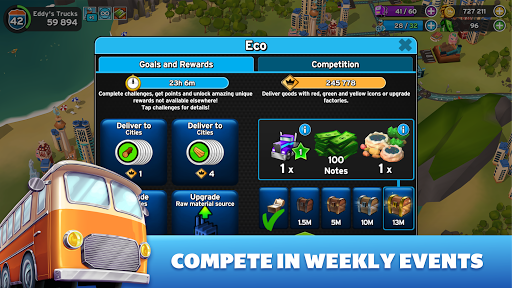 Transit King Tycoon - Simulation Business Game modavailable screenshots 4