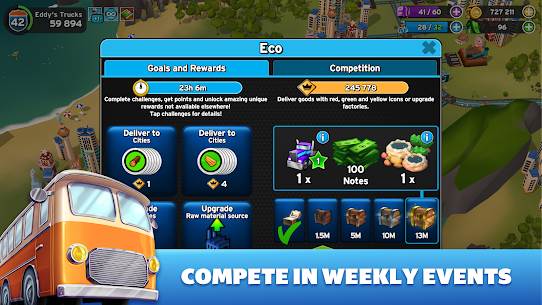 Transit King Tycoon MOD Apk 3.24 (Free Purchases) 4