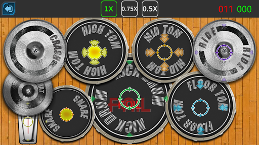 Drum Hero (rock music game, tiles style) 2.3 Mod screenshots 5