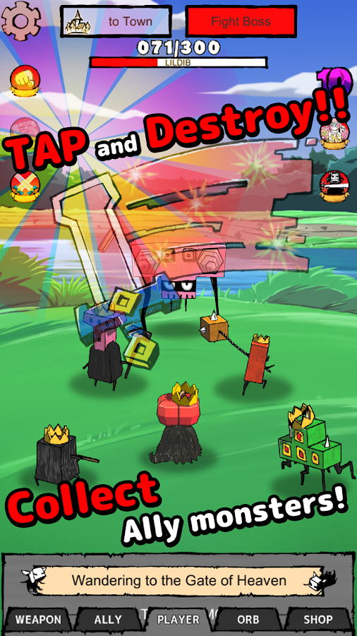 TAP TAP GRAFFITI- screenshot