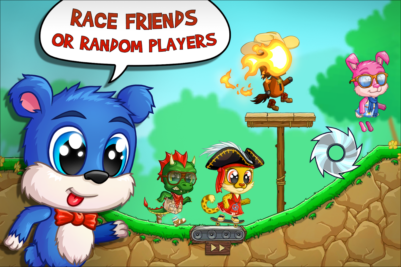 Fun Run Arena Multiplayer Race- screenshot