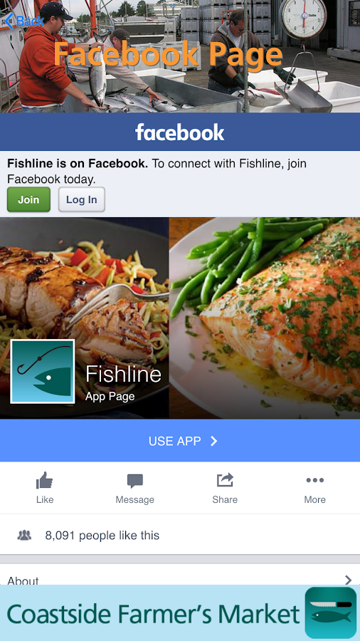 FishLine Fresh Local Seafood- screenshot