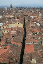 Photo: Via Saint Andrea és Lucca teteje (a középkorban sokkal több torony volt)
