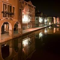 Il canal Vena a mezzanotte di