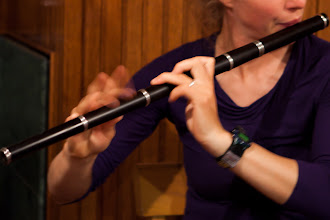 Photo: Miray's fingers flying on the flute. (Say that 10 times fast...).