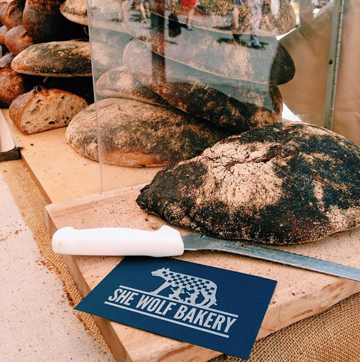 Sourdough, baguettes, multi-grain and more form the She Wolf Bakery. Photo: She Wolf Bakery.