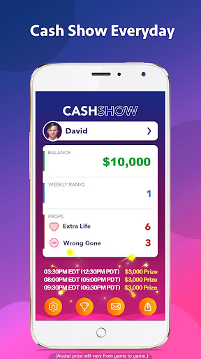 Cash Show - Win Real Cash! game (apk) free download for Android/PC/Windows screenshot