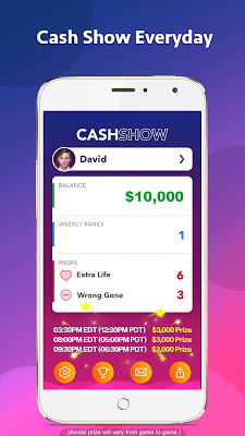 Cash Show - Win Real Cash! - screenshot