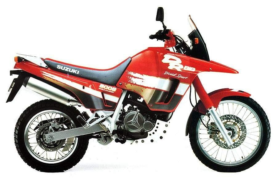 suzuki DR 800 S Big-manual-taller-despiece-mecanica