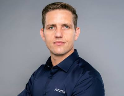 Peter French, Acronis' General Manager for the Middle East/Africa.
