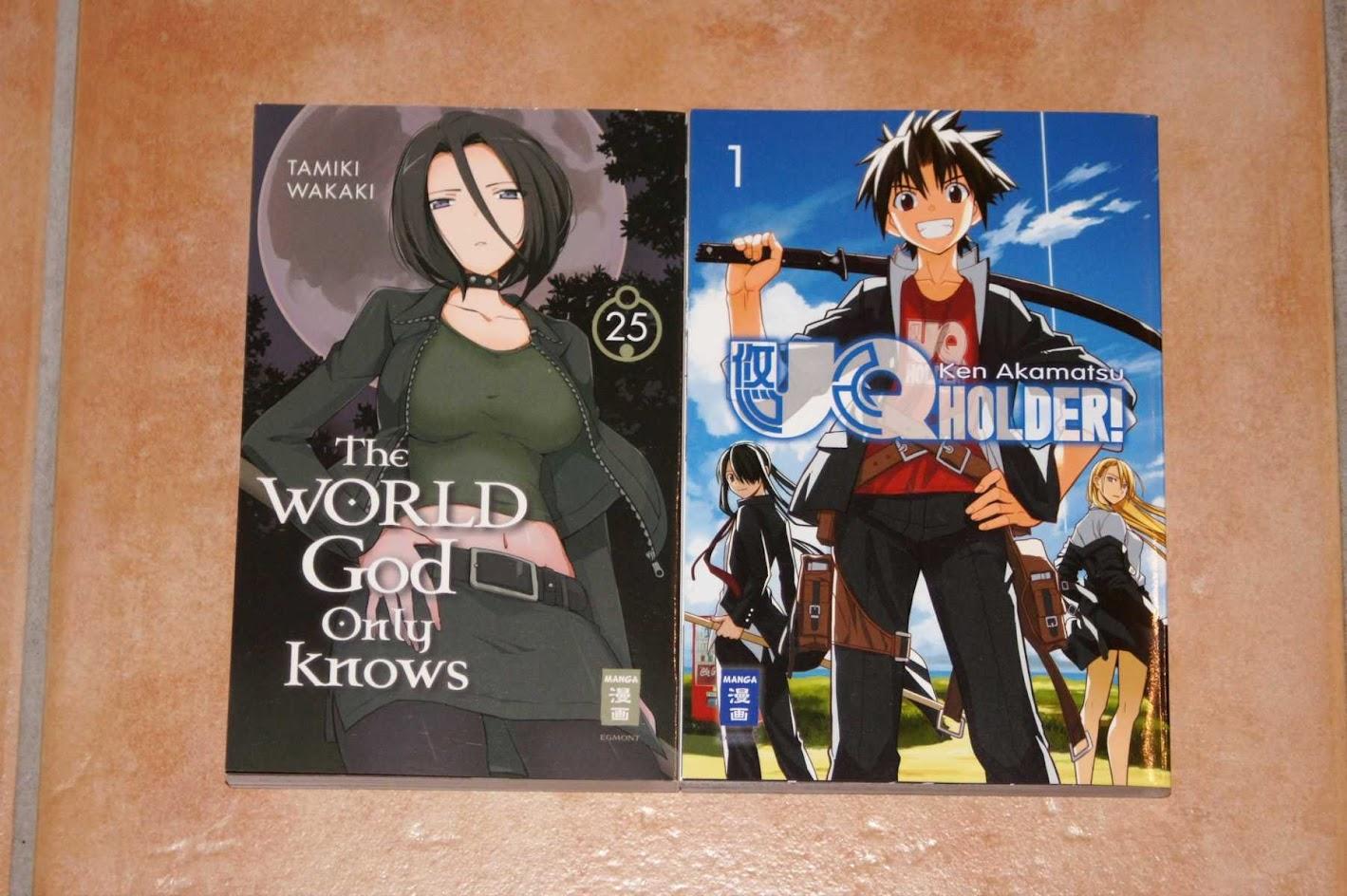EMA Manga UQ Holder Ken Akamatsu