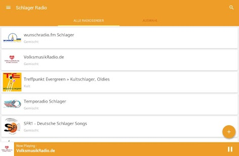 Schlager Radio- screenshot thumbnail