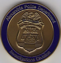 Photo: Alexandria Police Challenge Coin, Investigations Division