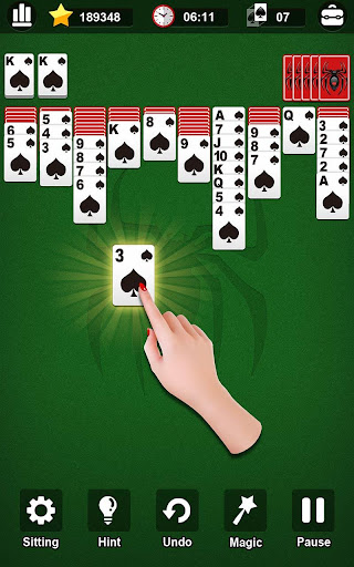 Spider Solitaire 1.0.5 screenshots 1