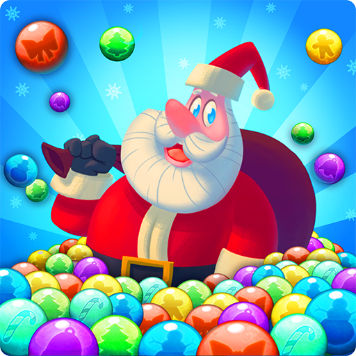 Bubble Shooter Santa 解謎 App LOGO-硬是要APP