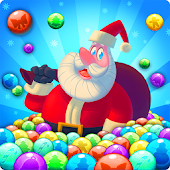 Bubble Shooter Santa