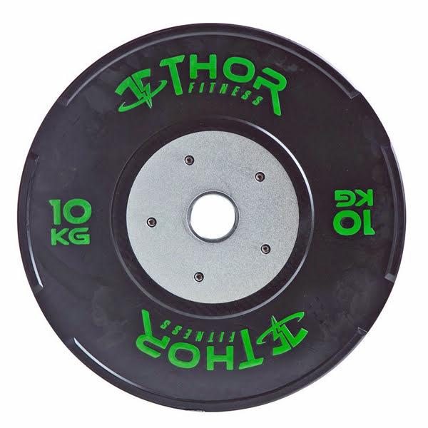 Thor Fitness Tävlingsbumpers svarta (50 mm Ø)