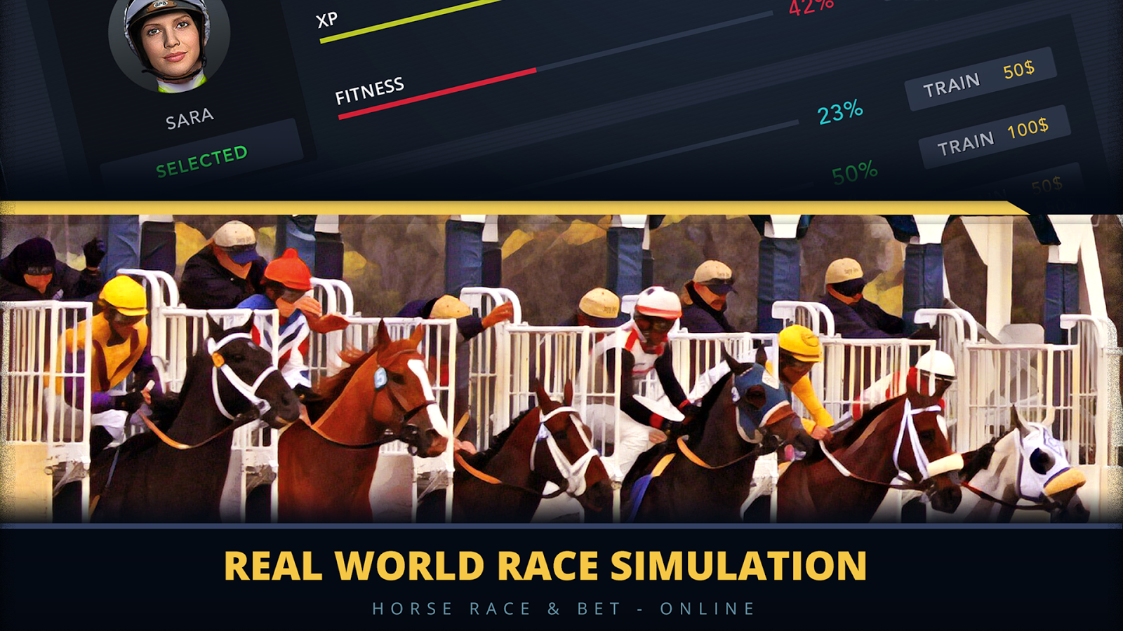 Horse Race & Bet