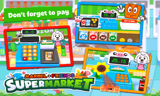 Marbel Supermarket Kids Games apktram screenshots 4