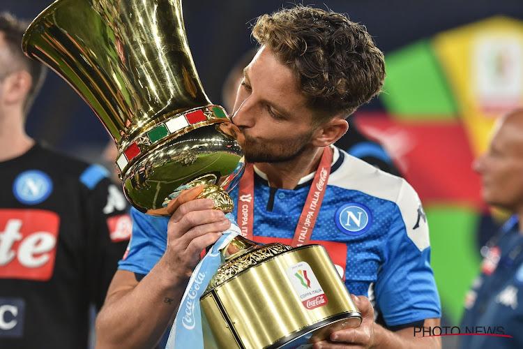 """🎥 Les ambitions de Dries Mertens à Naples: """"La Coupe n''est qu'un début"""""""