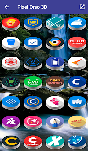 Pixel Pie 3D - Icon Pack Screenshot