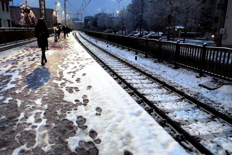Primi passi d'inverno di Luca Mandelli