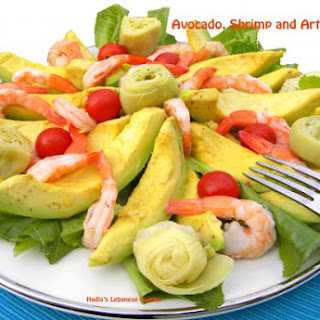 Avocado, Shrimp and Artichoke Salad