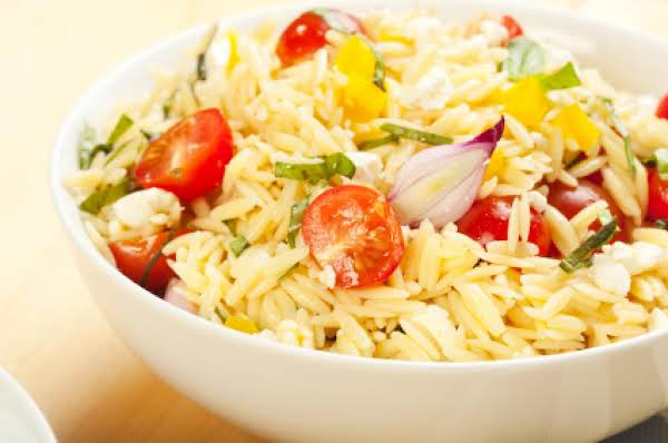 Sweet Million Cherry Tomato Orzo Salad Recipe