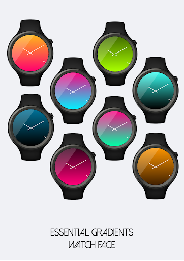 Essential Gradients Watch Face