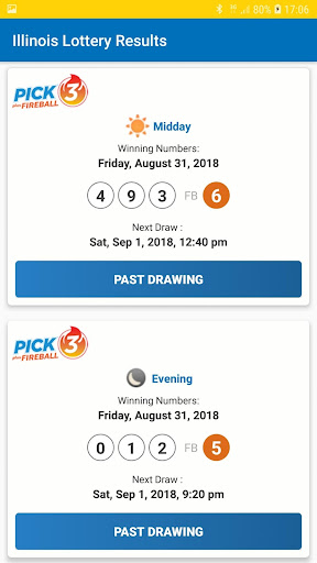 Illinois Lottery Results by Neptune Apps Zone (Google Play, United