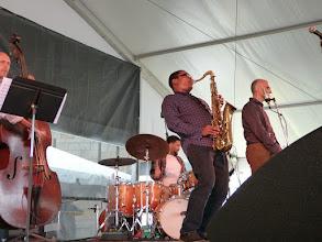 Photo: Ravi Coltrane quartet