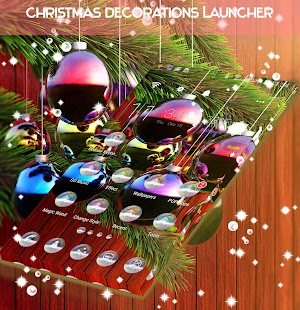 Christmas Decorations Launcher - náhled