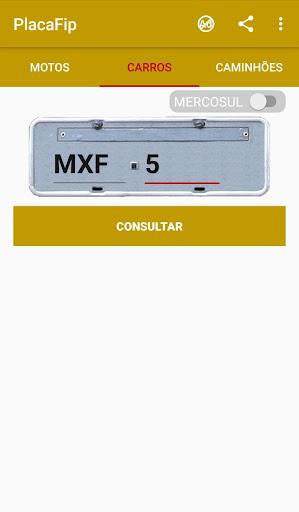 Foto do PlacaFip - Consulta placa e tabela