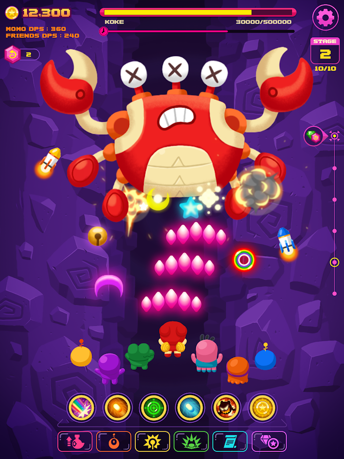 FantasTap - Fantasy Tap Game- screenshot