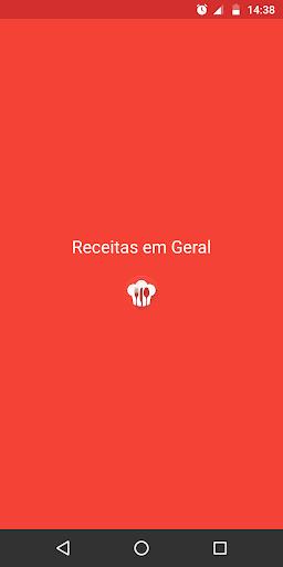 Receitas em Geral offline 1.1 screenshots 1