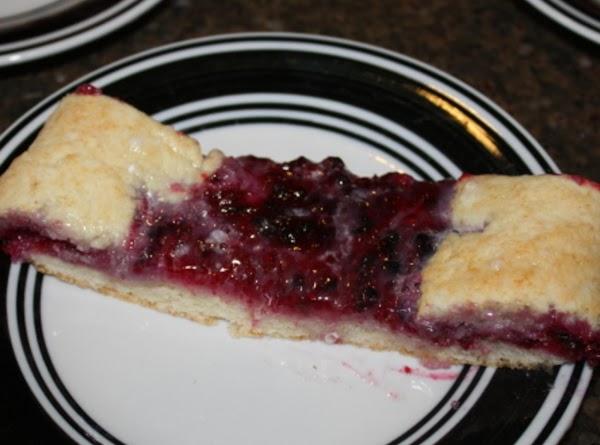 Berry Cream Coffee Cake Recipe
