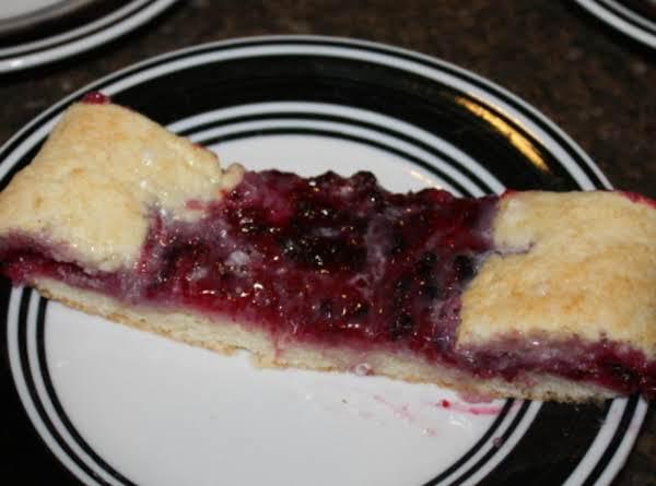 Berry Cream Coffee Cake